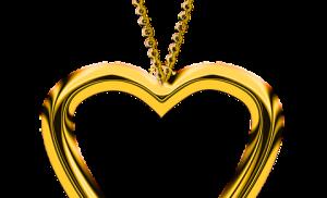 Złote wisiorki i zawieszki