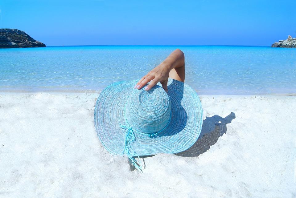 wakacje na słonecznej plaży