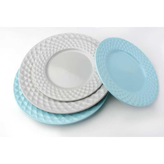 Współczesne talerze obiadowe